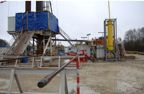Preparing a 500 mln cu.m. underground LNG strage facilty at Syderiai