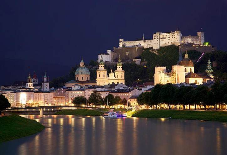 File:Old Town Salzburg across the Salzach river.jpg