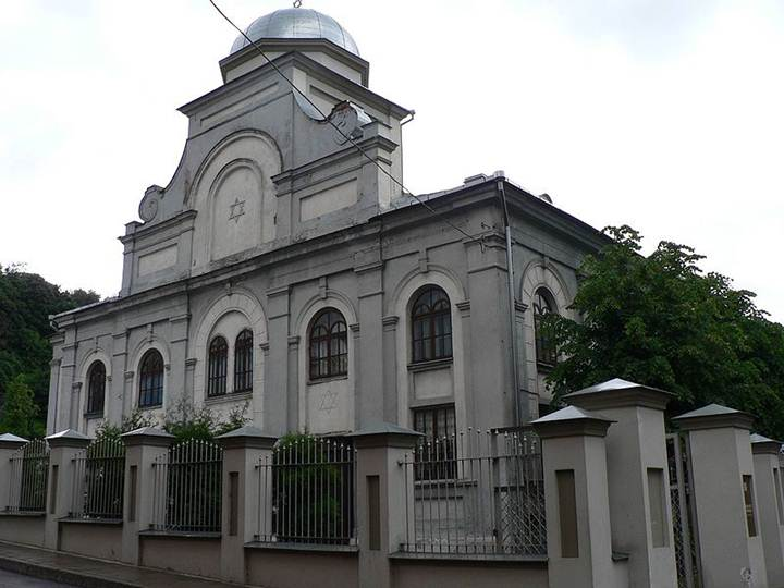 File:Lithuania Kaunas Synagogue.jpg