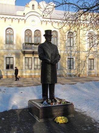 Description: Mylimiausiu prezidentu išrinktas Antanas Smetona