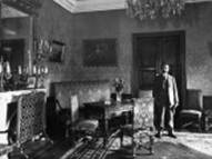 - President Antanas Smetona in the Conference room of the Presidential Palace, ca. 1928. Property of LCVA