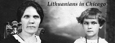 The Lithuanians in Chicago Banner