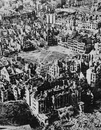 Description: File:Destroyed Warsaw, capital of Poland, January 1945.jpg