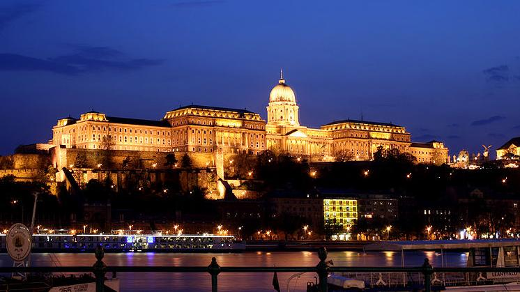 Description: File:Budapest castle night 5.jpg